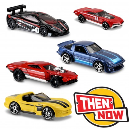 Машинки Hot Wheels коллекции Then and Now
