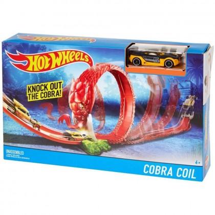 Игровой набор Hot Wheels Кольцо кобры DWK95/DWK94