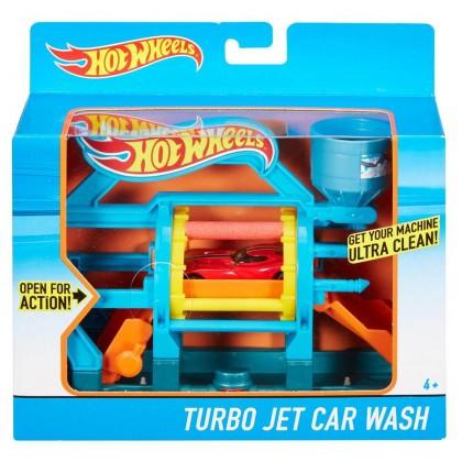 Игровой набор Hot Wheels Турбо мойка DWL00/DWK99