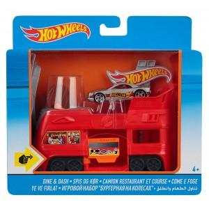 Игровой набор Hot Wheels Бургерная на колёсах FDF56/DWK99