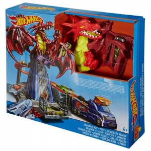 Трек Hot Wheels Удар дракона DWL04