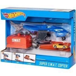 Игровой набор Hot Wheels Супербоевой вертолет FDW72