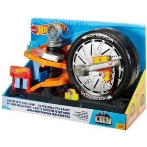 Игровой набор Hot Wheels Шиномонтажная мастерская FNB15/17