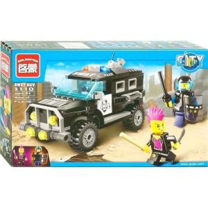 """Конструктор Enlighten Brick 1110 """"Полицейский джип"""""""