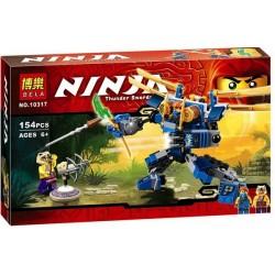 """Конструктор Bela Ninja 10317 """"Летающий робот Джея"""""""