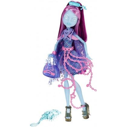 Кукла Monster High из серии Ученики-Призраки - Киёми Хантерли