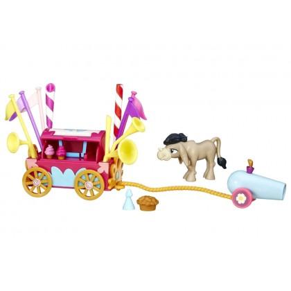 My Little Pony Мини-набор - Кренки Дудл и тележка для праздника B5567/B3597
