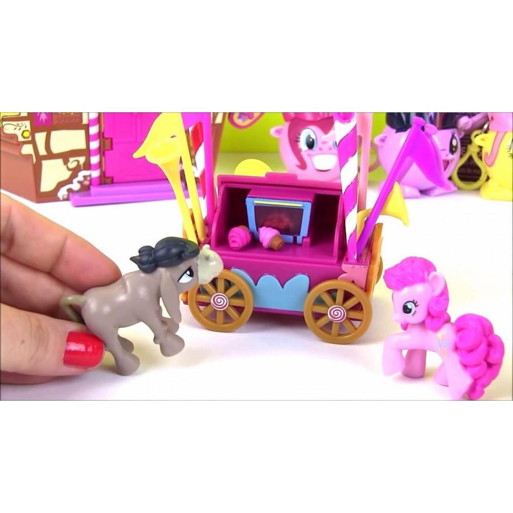 Купить My Little Pony Мини-набор - Кренки Дудл и тележка ...