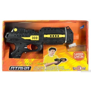 """Игрушечный пистолет """"Атака"""" ПАК-25 М01+"""