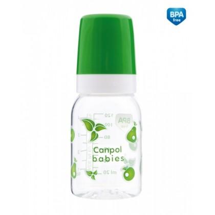 Бутылочка для кормления пластиковая 120 мл Canpol 11/820