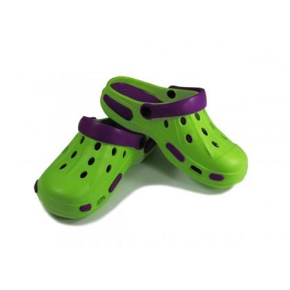 Сабо Tilla зелёно-фиолетовые
