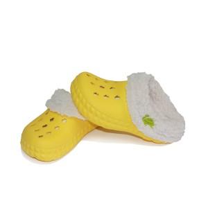 Сабо Tilla утеплённые жёлтые